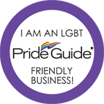 I am an LGBT Pride Guide Friendly Business