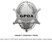 Gay Peace Officers Association Logo